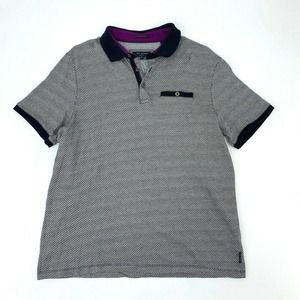 Ted Baker Polo Shirt Short Sleeve Casual Collared